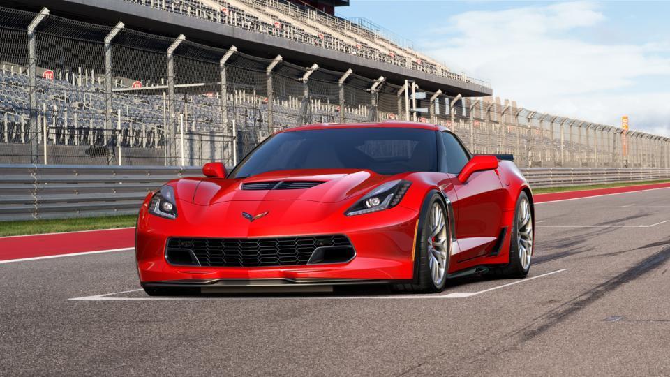 New Car 2017 Torch Red Chevrolet Corvette Z06 3lz For Sale