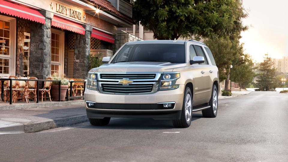 New 2017 Chevrolet Tahoe Champagne Silver Metallic For