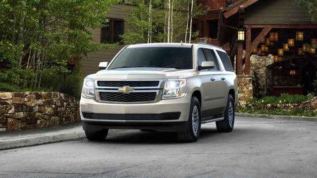 Astounding 2017 Champagne Silver Metallic Chevrolet Suburban For Sale Squirreltailoven Fun Painted Chair Ideas Images Squirreltailovenorg