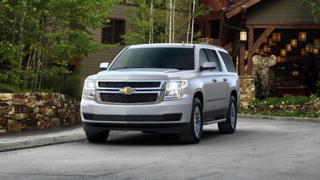 Covington Chevrolet Suburban 2017 Silver Ice Metallic Used