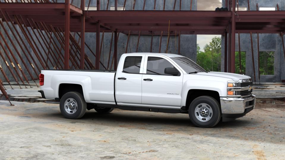 new 2017 summit white chevrolet silverado 2500hd double cab long box 2 wheel drive work truck. Black Bedroom Furniture Sets. Home Design Ideas