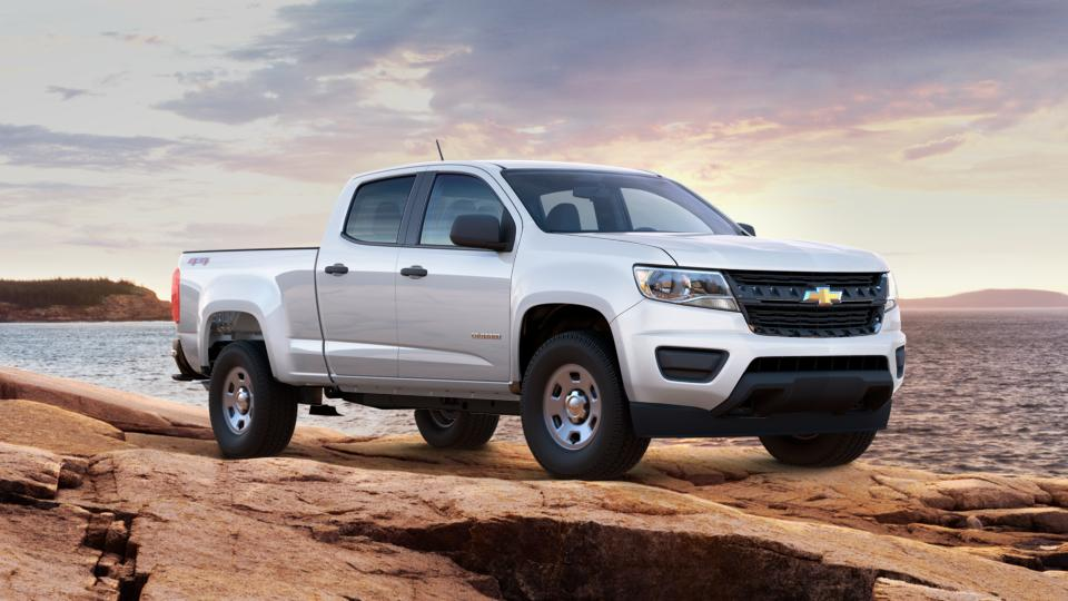 New 2017 Summit White Chevrolet Colorado For Sale In Akron