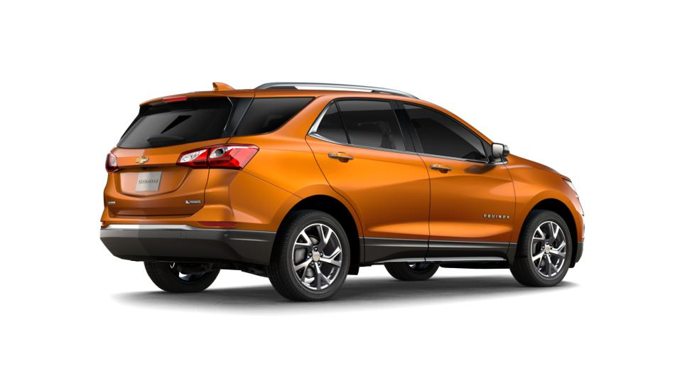 New 2018 Orange Burst Metallic Chevrolet Equinox Fwd