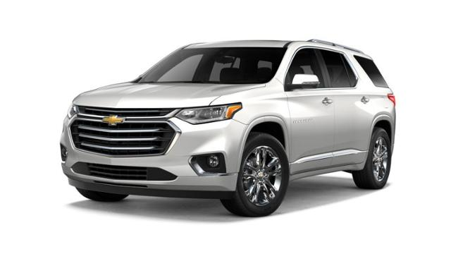 Raleigh Iridescent Pearl Tricoat 2018 Chevrolet Traverse: New