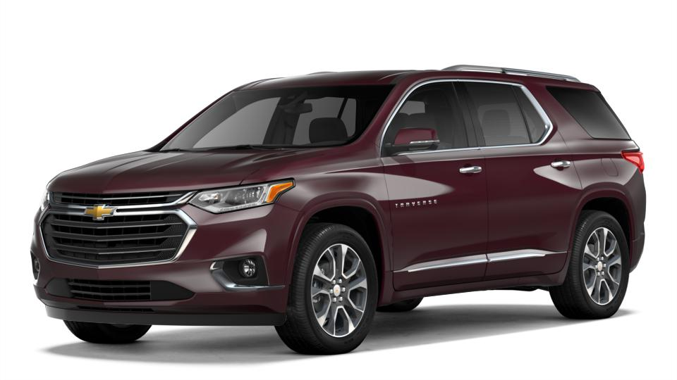 New 2018 Black Currant Metallic Chevrolet Traverse Fwd 1lz