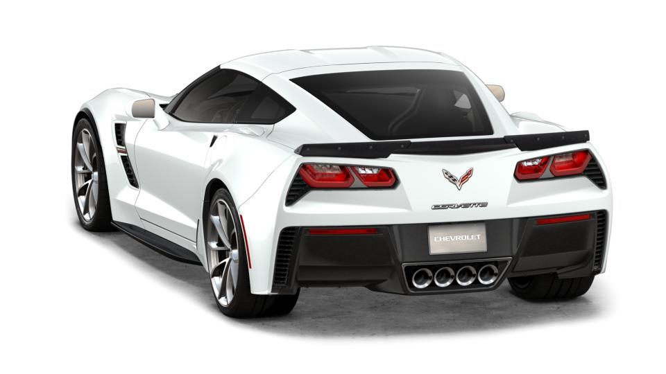 New 2018 G8g Arctic White Chevrolet Corvette Grand Sport