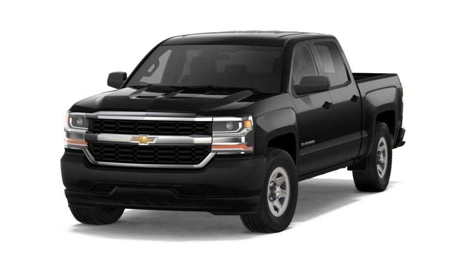 new 2018 black chevrolet silverado 1500 crew cab short box 2 wheel drive wt for sale in texas. Black Bedroom Furniture Sets. Home Design Ideas