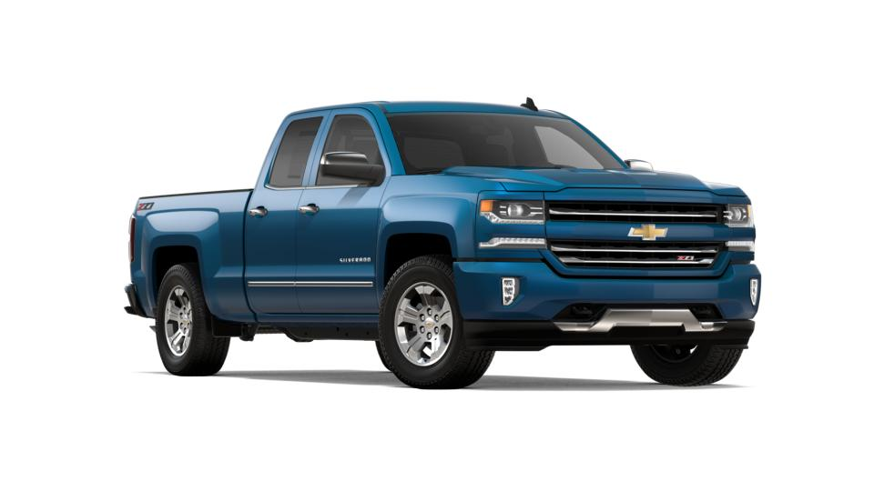 2018 Deep Ocean Blue Double Cab Standard Box 4 Wheel Drive
