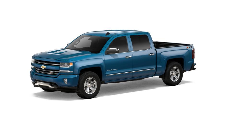 Bastrop Deep Ocean Blue Metallic 2018 Chevrolet Silverado