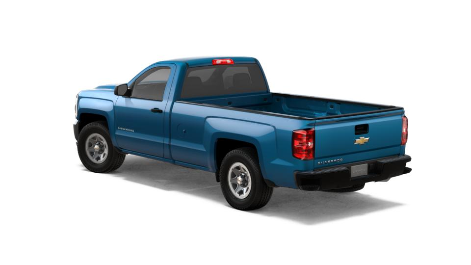 New 2018 Deep Ocean Blue Chevrolet Silverado 1500 Regular
