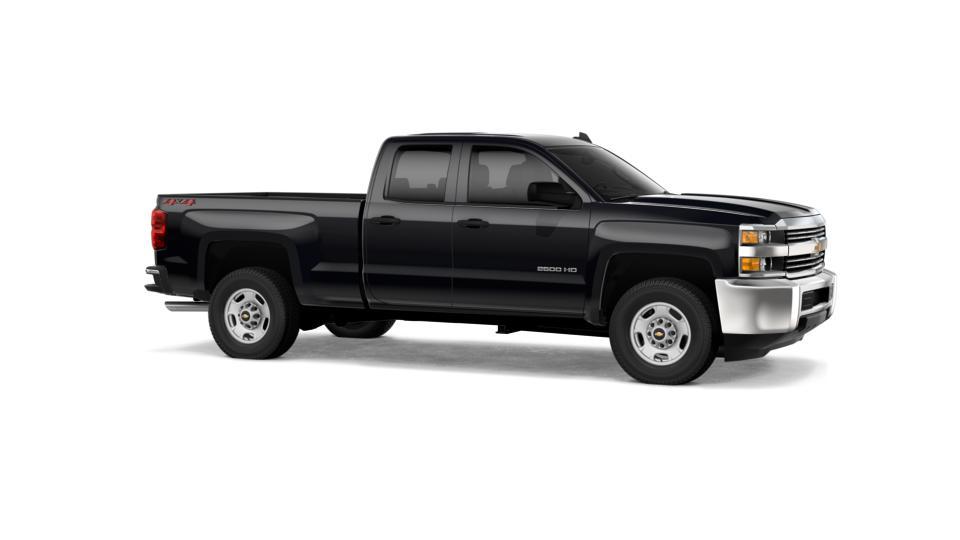 New Truck 2018 Black Chevrolet Silverado 2500hd Double Cab