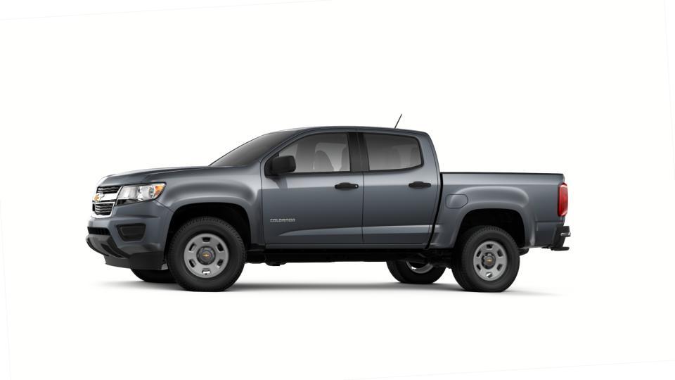 New 2018 Satin Steel Metallic Chevrolet Colorado Crew Cab ...