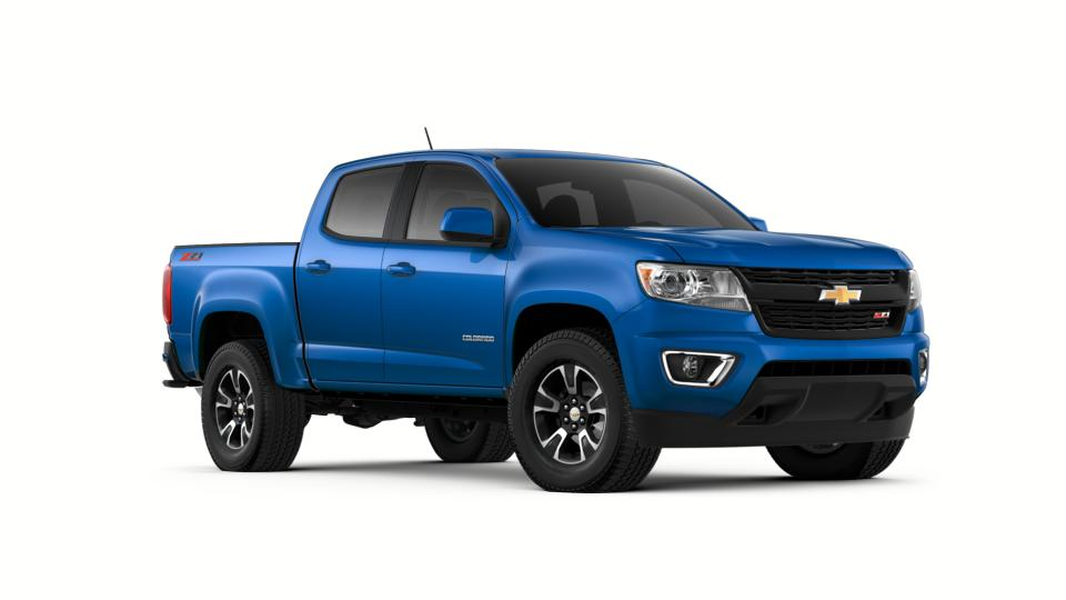 New kinetic blue metallic 2018 chevrolet colorado crew cab for Wylie musser motors terrell tx