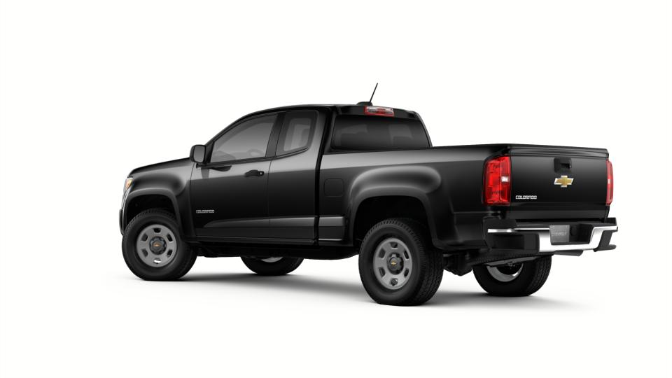 New Truck 2018 Black Chevrolet Colorado Extended Cab Long