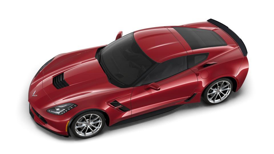 New 2019 Long Beach Red Metallic Tintcoat Chevrolet Corvette Grand