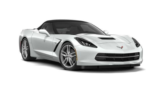 New 2019 Arctic White Chevrolet Corvette Car for Sale in