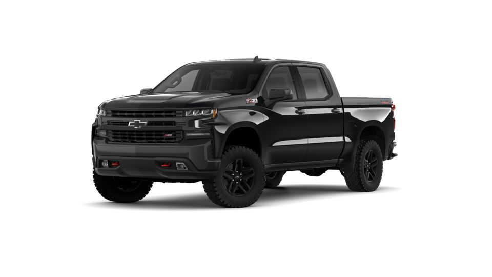 New 2019 Chevrolet Silverado 1500 Crew Cab Short Box 4 Wheel Drive Lt Trail Boss