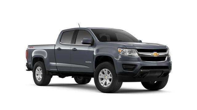 Gray 2019 Chevrolet Colorado Crew Cab Long Box 4 Wheel Drive Lt