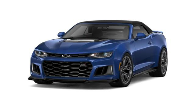 Tulsa Riverside Blue Metallic 2019 Chevrolet Camaro New For Sale