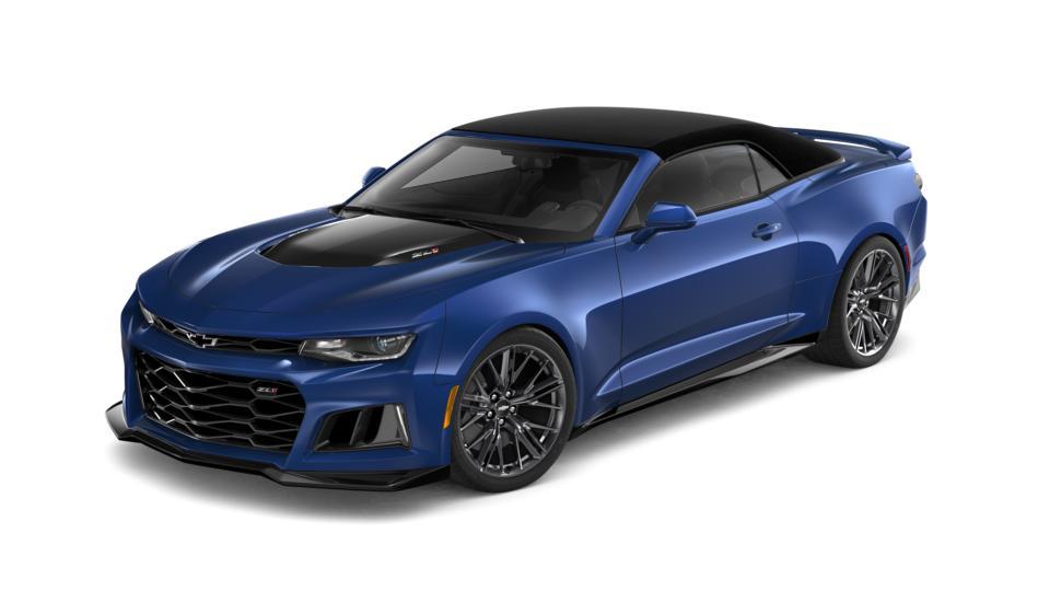 Tulsa Riverside Blue Metallic 2019 Chevrolet Camaro New ...