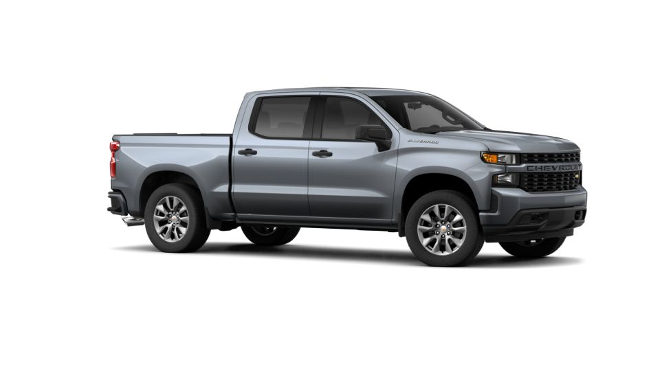 Satin Steel Metallic 2019 Chevrolet Silverado 1500 Crew