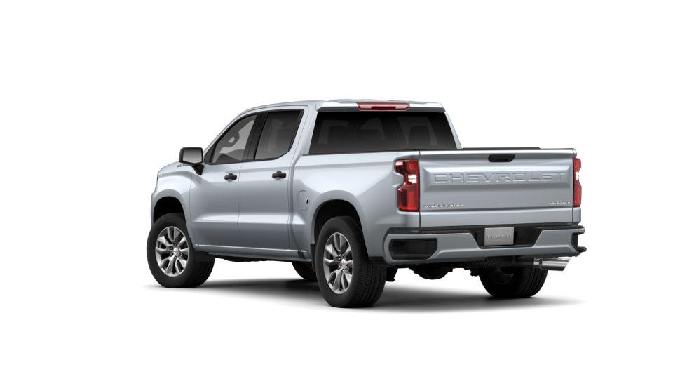 Todd Wenzel Chevrolet >> Silver Ice Metallic 2019 Chevrolet Silverado 1500 Custom ...