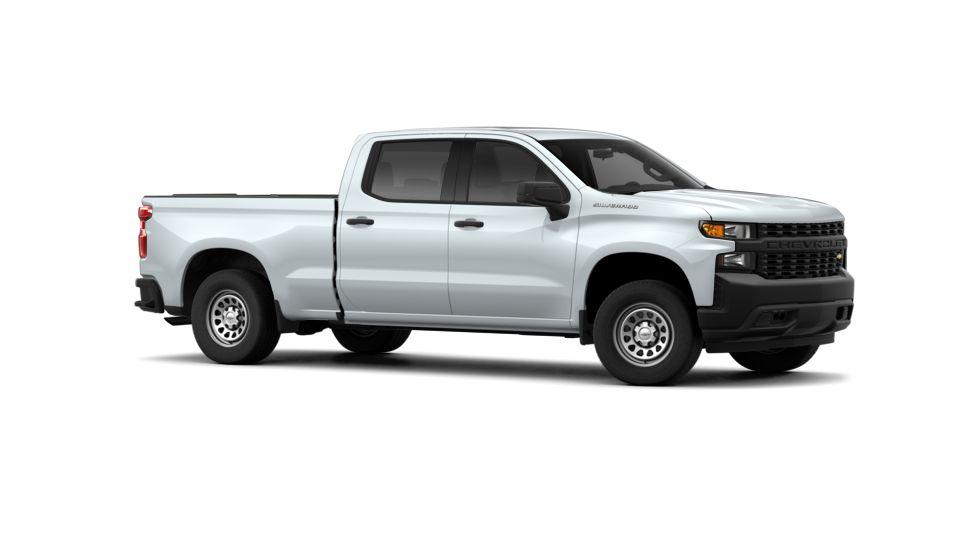 New 2019 Summit White Chevrolet Silverado 1500 Crew Cab Standard Box 2 Wheel Drive Wt For Sale