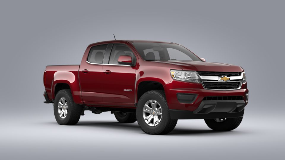 New 2020 Chevrolet Colorado Lt In Cajun Red Tintcoat For