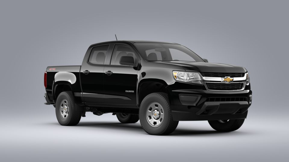 New 2020 Chevrolet Colorado Crew Cab Short Box 4-Wheel Drive WT