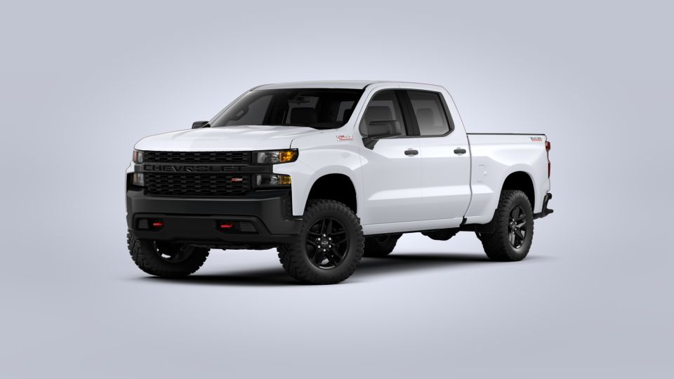 New 2020 Summit White Chevrolet Silverado 1500 Crew Cab ...