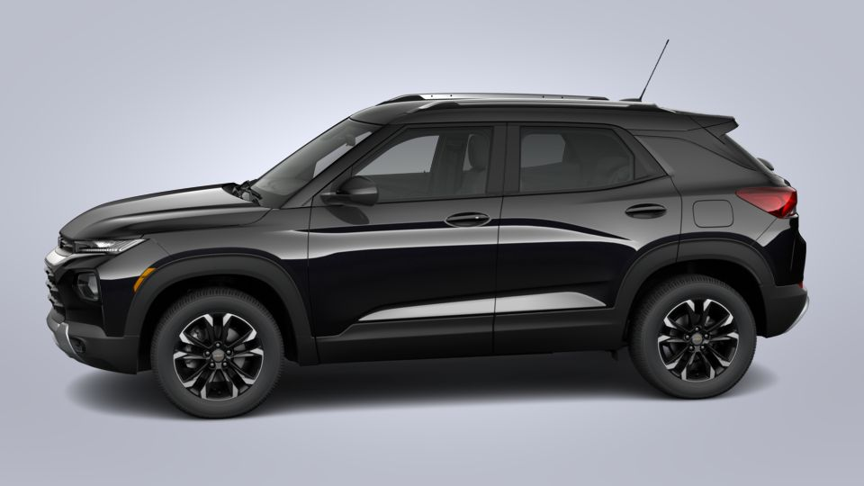new 2021 chevrolet trailblazer lt in mosaic black metallic