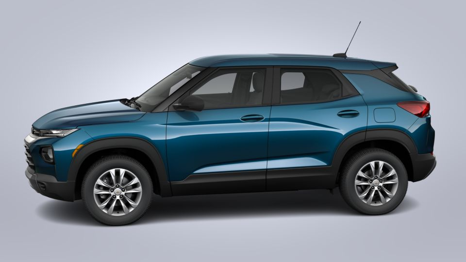 new 2021 chevrolet trailblazer fwd 4dr ls in pacific blue
