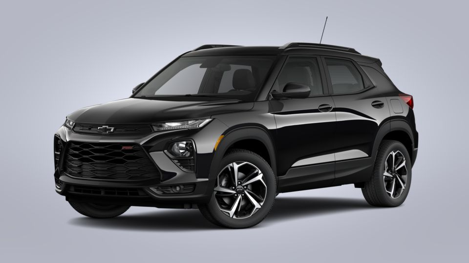 new 2021 chevrolet trailblazer rs in mosaic black metallic