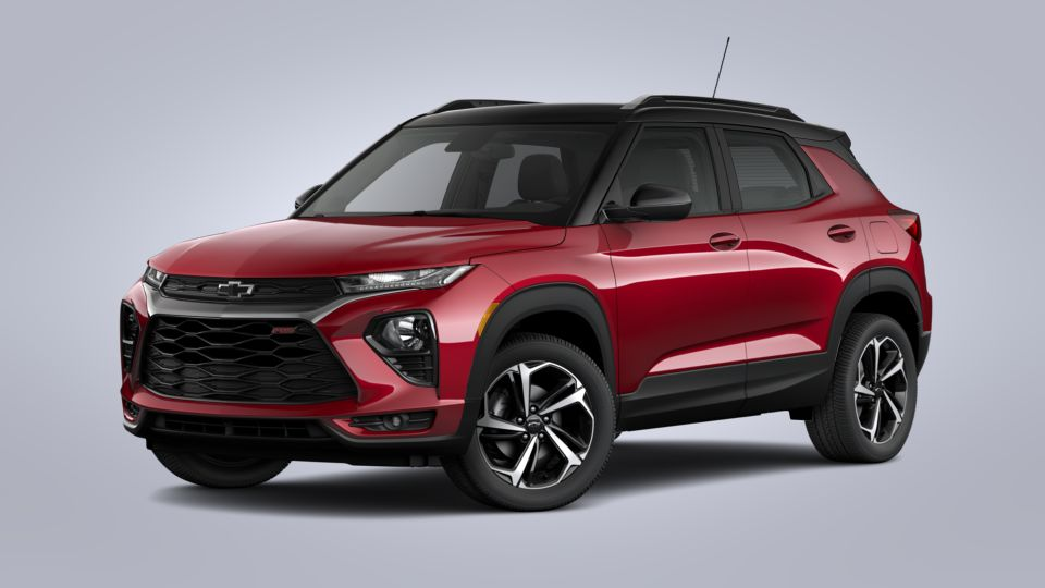 new 2021 chevrolet trailblazer scarlet red metallic fwd