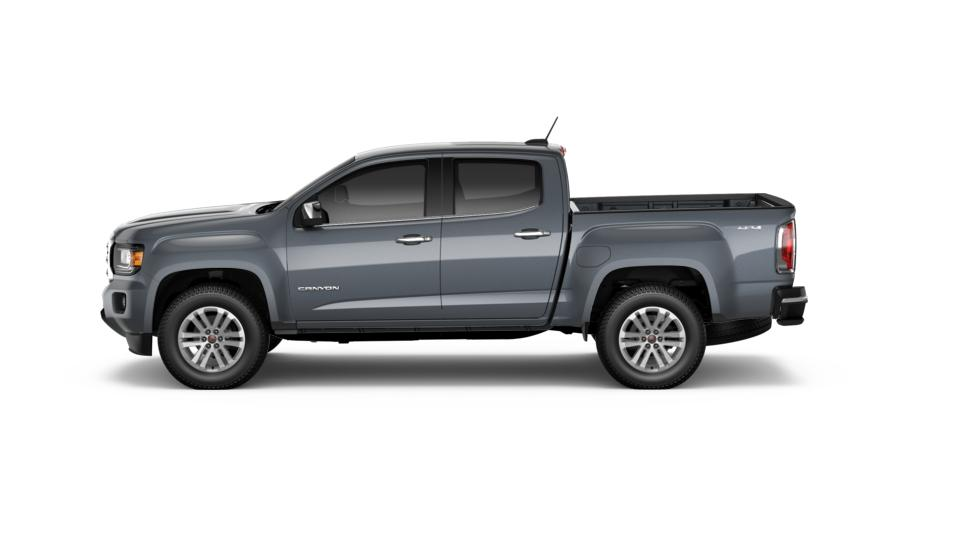 new truck 2017 cyber gray metallic gmc canyon 4wd slt for. Black Bedroom Furniture Sets. Home Design Ideas