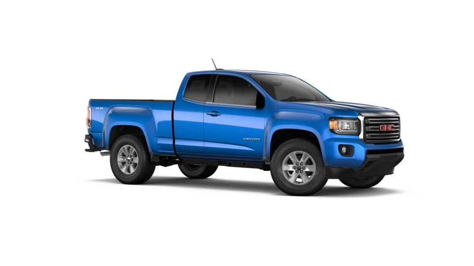 Columbia Marine Blue Metallic 2018 Gmc Canyon New Truck For Sale G175812