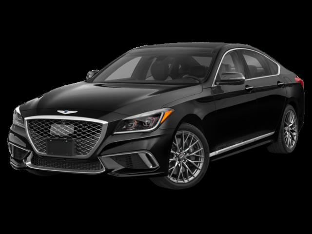 2020 genesis g80 3.3t sport rwd vik black 4d sedan. a