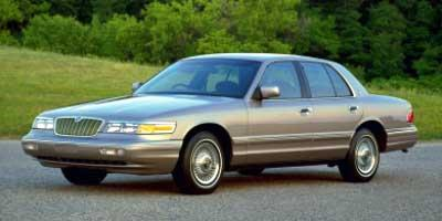 1997 Mercury Grand Marquis Vehicle Photo in San Angelo, TX 76903