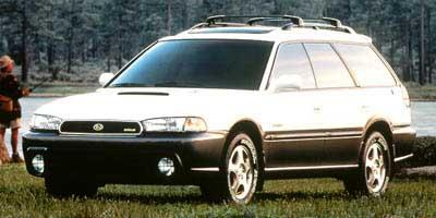 Pre-Owned 1998 Subaru Legacy Wagon BURGUNDY