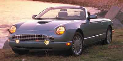 2002 Ford Thunderbird Vehicle Photo in Boyertown, PA 19512