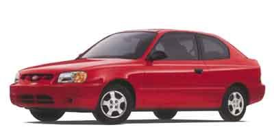 2002 Hyundai Accent Vehicle Photo in Spokane, WA 99207
