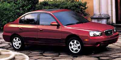 2002 Hyundai Elantra Vehicle Photo in Highland, IN 46322
