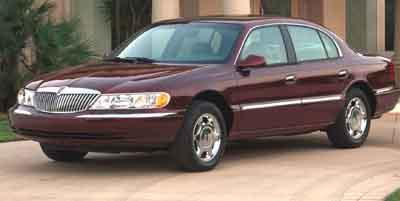 2002 LINCOLN Continental Vehicle Photo in Manhattan, KS 66502