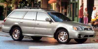 2004 Subaru Legacy Wagon Vehicle Photo in Akron, OH 44303