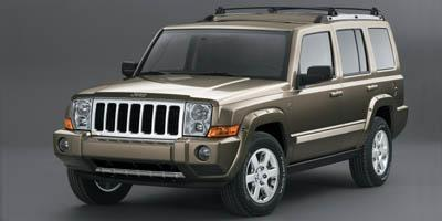 Inferno Red Crystal Pearl 2006 Jeep Commander for Sale at