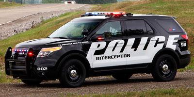 2013 Ford Utility Police Interceptor Vehicle Photo in Warren, OH 44483