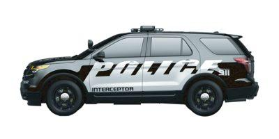 2014 Ford Utility Police Interceptor Vehicle Photo in Akron, OH 44312
