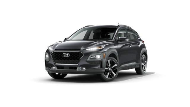 2018 Hyundai Kona Ultimate 1.6T DCT AWD w/Lime Accent Thunder Gray