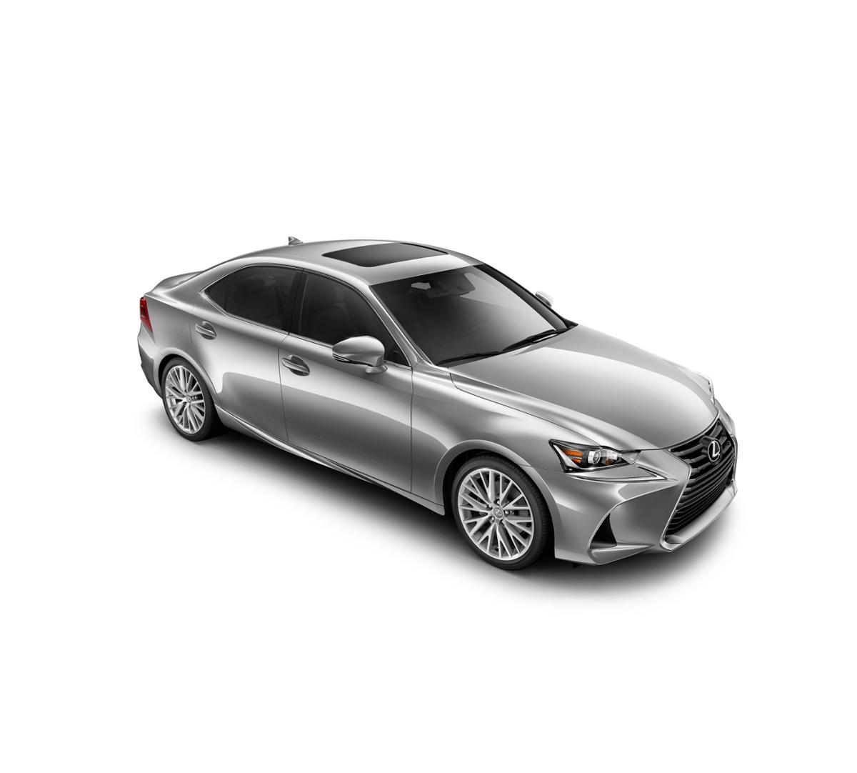 new 2017 lexus is turbo silver lining metallic for sale in houston pearland league city tx. Black Bedroom Furniture Sets. Home Design Ideas
