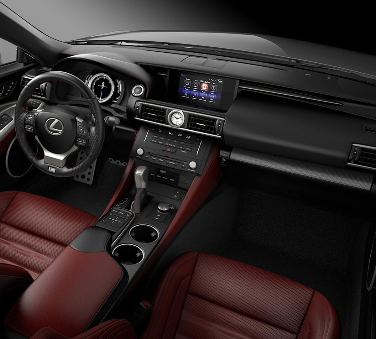 1993 Lexus Sc Interior: Columbia Silver Lining Metallic 2017 Lexus RC 350: New Car